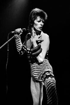 David Bowie par Claude Gassiant