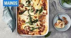 Tässä on talvipäivän täydellinen uuniruoka, joka syödään viimeistä murua myöten. Pulled Pork, Vegetable Pizza, Halloumi, Mozzarella, Bbq, Vegetables, Breakfast, Food, Quiche