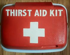 Thirst Aid Kit lol Lifeguard Anchor Splash DG Nautical
