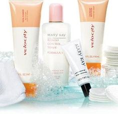 Velocity Skin Care Set (also sold separately) $35  Facial Cleanser $10  Lightweight Moisturizer $12  Blemish Control Toner $13