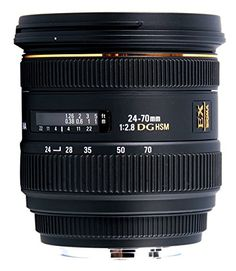 Sigma 24-70mm f/2.8 IF EX DG HSM AF Standard Zoom Lens for Canon Digital SLR Cameras * Continue to the product at the image link.