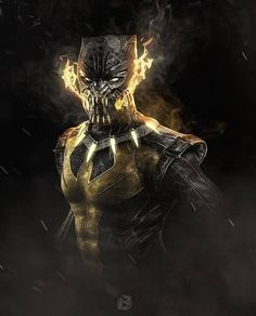 We Are Wakanda — Featured artist: Black Panther Images, Black Panther Storm, Panther Pictures, Black Panther Art, Black Panther Marvel, Black Comics, Dc Comics, Marvel Art, Marvel Heroes