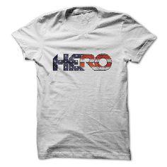 t-shirt HERO American Flag Shirt