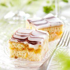 Raikkaan appelsiiniset leivokset, joiden pinnalla kaunis marmorointi. Leivokset sopivat kahvipöydän herkuksi monenlaisiin juhliin.