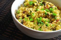 Risoto de legumes com castanhas