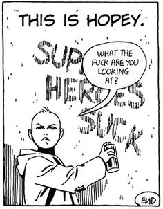 punksagainstthewall:    Panel from Love and Rockets by Jaime Hernandez (early 80s)