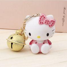 Hello Kitty Charming Keychain