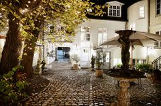 Villa Provence – Hotel in Aarhus - Accommodation. spotted by Aarhus, Hotels And Resorts, Country Decor, Provence, Danish, Denmark, Villa, Around The Worlds, Exterior