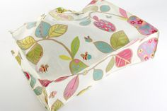 How to make an oilcloth tote Steps 6 & 7