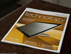 112 PICTURES IN 2012. 23. Technology.    The latest technology brochure from John Lewis, probably the best place to buy tech stuff.     Backup all your Files, Photos & Music for Free. Save all your hard work sitting on your PC & handheld units. For Business aswell.