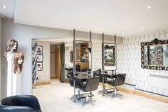 excellent service and personal attention as usual.  Hair beautifully cut and retains its shape extremely well.