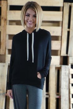 The ZigZag Stripe - Black Everyday #Hoodie, $26.00 (http://www.zigzagstripe.net/black-everyday-hoodie/) Use discount code PinZZS and save 20% off your total!