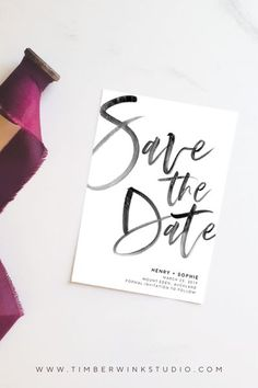 This typographic printable wedding save the date card features a modern trendy design. This simple digital template is perfect for any minimalist, rustic, summer, spring, winter of fall wedding. Our easy to use templates are for brides with time constrain Printable Wedding Invitations, Printable Cards, Wedding Stationery, Printable Templates, Invitation Templates, Invitation Cards, Free Printable, Simple Weddings, Summer Weddings
