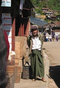 an interesting man, Mogok, Burma