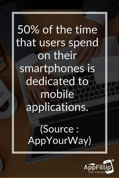 People within this age bracket spend half of the time used on their smartphone in #mobile #apps, as we can see in #comScore's #smartphone statistics. The figure climbs up to 66% for people within the 18–24 age bracket. #marketing #digitalmarketing #appstore #ios #android App Marketing, Digital Marketing, App Promotion, Best Mobile, Mobile Application, Statistics, Ios, Smartphone, Android