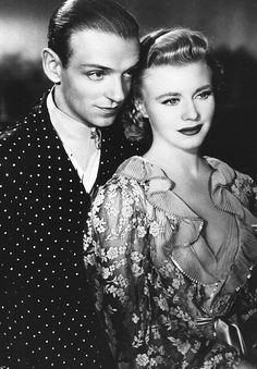 Fred Astaire and Ginger Rogers...Oh, What A Screen Couple They Made...And Great Friends Off Camera, too!!
