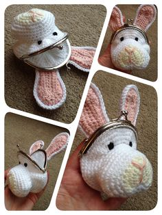 Ravelry: Rabbit Coin Purse by Laura Sutcliffe