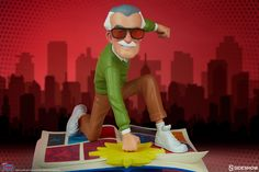 The Marvelous Stan Lee Designer Collectible Figure by Unruly Industries | Sideshow Collectibles