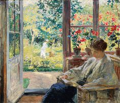 Now Open: The Artist's Garden: American Impressionism And The Garden Movement, 1887-1920 At The Pennsylvania Academy Of The Fine Arts, February 13-May 24