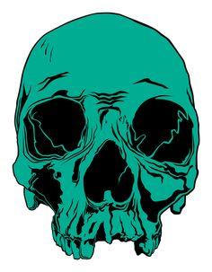 vector skull by Spibby