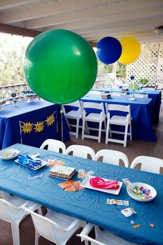 Super Why party with mask decorating activity