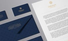 Brand identity for Odintsov 18
