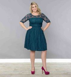 Plus Size Wedding Party Dresses With Sleeves - Wedding and Bridal Inspiration Plus Size Dresses Uk, Plus Size Wedding Guest Dresses, Popular Wedding Dresses, Dresses To Wear To A Wedding, Cute Wedding Dress, Plus Size Outfits, Party Dresses With Sleeves, Dressy Dresses, Wedding Party Dresses