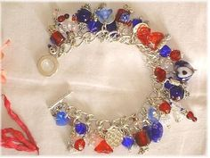 SP 'Britannia' Charm Bracelet
