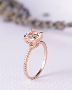 Hey, I found this really awesome Etsy listing at https://www.etsy.com/listing/521144466/rose-gold-engagement-ring-morganite-ring