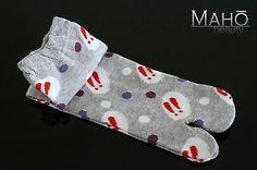 MADE IN JAPAN tabi split toe socks USAGI rabbit bunny kimono flip flops 22-25cm