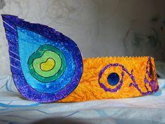 Krishna Janmashtami - how to make a Krishna crown - Artsy Craftsy Mom Paper Crafts For Kids, Easy Crafts For Kids, Craft Activities For Kids, Creative Crafts, Hobbies And Crafts, Diy For Kids, Arts And Crafts, Kindergarten Crafts, Preschool Crafts