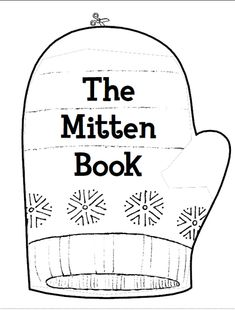 The Mitten Book: This adorable mini book printable is a great coloring and reading activity for beginning readers! Reading Activities, Winter Activities, Classroom Activities, Preschool Winter, Classroom Ideas, Winter Kids, Kindergarten Activities, Winter Theme, Mini Books