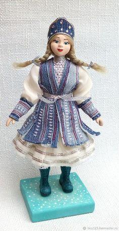 Купить Снегурочка Кукла - Подарок На Новый Год в интернет магазине на Ярмарке Мастеров