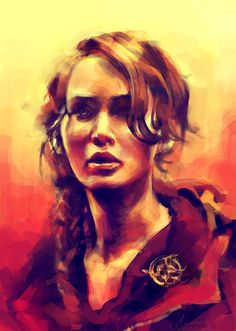 The Hunger Games Katniss Everdeen by Alice X Zhang.