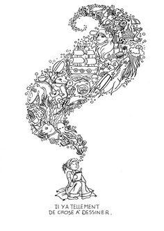 Doodle Invasion Zifflins Coloring Book Zifflin Kerby
