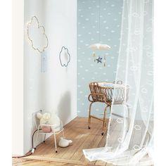 papier_peint_nuages_bleus_intisse_little_world