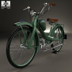 NSU Quickly N 1953 3d model from humster3d.com