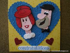 Sharyn's Stamp Biz: A Happy Couple Paper Punch Art, Punch Art Cards, Craft Punches, Owl Punch, Pretty Cards, Kids Cards, Anniversary Cards, Paper Piecing, Homemade Cards