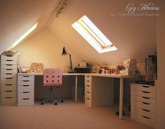 Over 30 Different  Attic Design Ideas. http://www.pinterest.com/njestates1/attic-design-ideas/ …