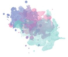 Pastel Watercolor Splashes