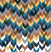 Congested chevrons falling by Stephanie
