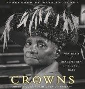 Just look at the cover lady! Isn't she awesome? Stunning black & white photos of African American women of all ages in their favorite church hats. Each photo accompanied by a story by the model. A book to treasure.