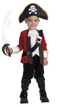 Kids El Capitan Pirate Costume - Pirate Costumes