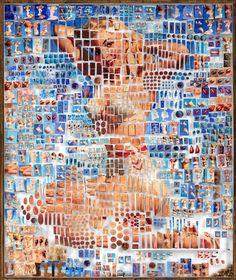 Les Portraits disséqués de Michael Mapes - L'artiste New-yorkais Michael Mapes utilise l'univers de la science médicale pour mettre en avant ses oeuvres