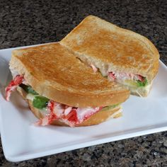 Chilean King Crab, Avocado and Havarti on Sourdough Grilled Cheese Recipe The best grilled cheese on Earth