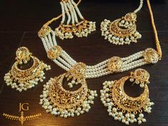 Archana Collection- Choker Set- Pearl - Beautiful!
