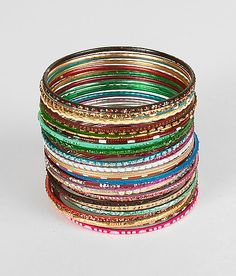 Daytrip Mixed Bangle Bracelet Set