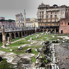 Basilica Ulpia - forum of trajan