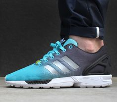 62b40460cd87 adidas ZX FLUX Fade Pack-Light Aqua-Metallic Silver-Black Adidas Zx Flux