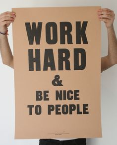 It's a simple, golden rule